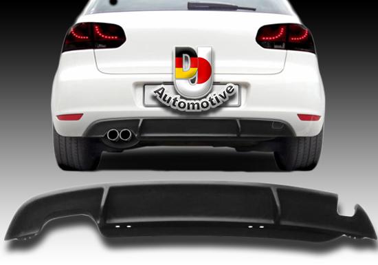 diffuser vw golf 6 sport look abs kunststof dj automotive. Black Bedroom Furniture Sets. Home Design Ideas