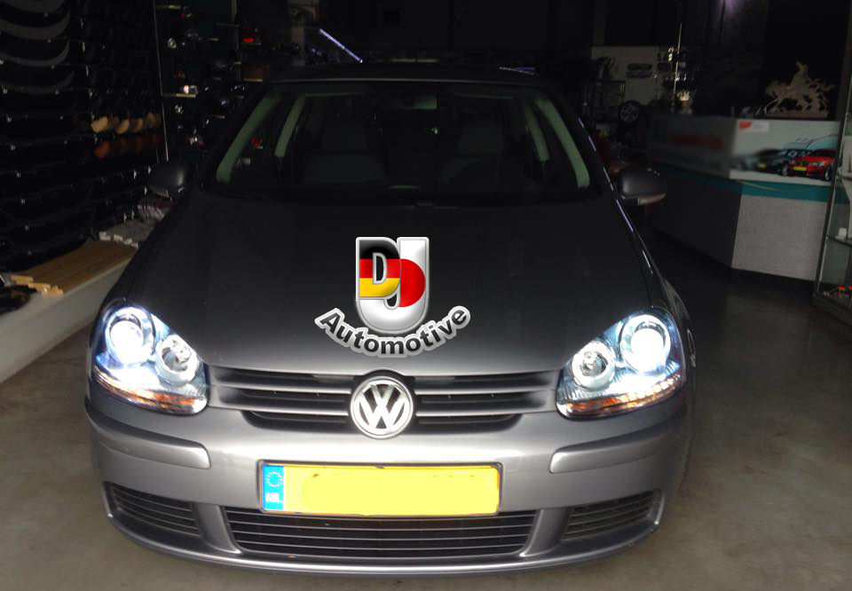 Golf 5 Lampen : Vw golf koplampen gti oem look met xenon h k dj automotive